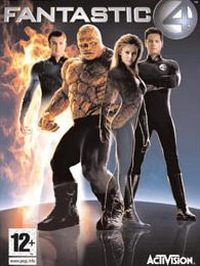 Game Box for Fantastic 4 (PC)