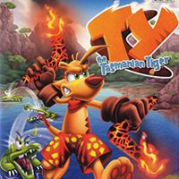 Game Box for Ty The Tasmanian Tiger (PS4)