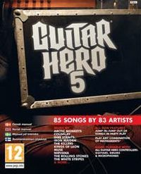 Game Box for Guitar Hero 5 (PS3)