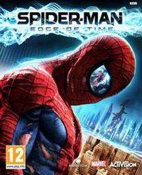 Spider-Man: Edge of Time (PS3 cover