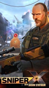 Okładka Sniper X with Jason Statham (iOS)
