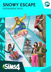 Game Box for The Sims 4: Snowy Escape (PC)