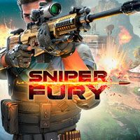 Game Box for Sniper Fury (PC)