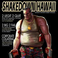 Game Box for Shakedown Hawaii (3DS)