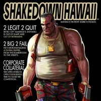 Game Box for Shakedown Hawaii (PC)