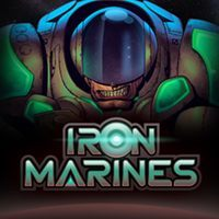Game Box for Iron Marines (PC)