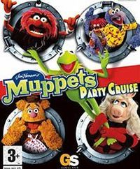 Game Box for Muppet Party Cruise (GCN)