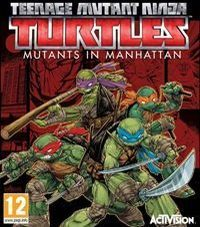 Okładka Teenage Mutant Ninja Turtles: Mutants in Manhattan (PS4)