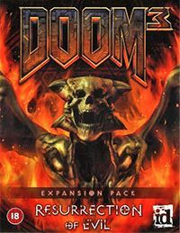 Okładka Doom 3: Resurrection of Evil (PC)