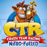 Okładka Crash Team Racing Nitro-Fueled (PS4)
