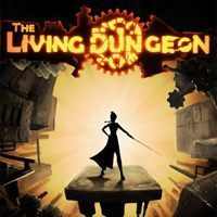 Game Box for The Living Dungeon (PC)