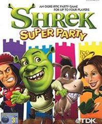 Game Box for Shrek Super Party (PS2)