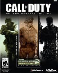 Game Box for Call of Duty: Modern Warfare Trilogy (PS3)