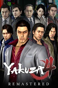 Okładka Yakuza 4 Remastered (PC)
