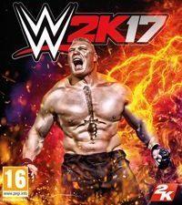 Okładka WWE 2K17 (PS4)