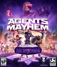 Okładka Agents of Mayhem (PC)