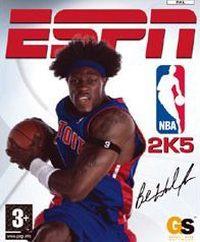 Okładka ESPN NBA 2K5 (PS2)