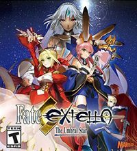 Fate/Extella: The Umbral Star (PC cover