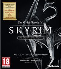 Game Box for The Elder Scrolls V: Skyrim Special Edition (PC)