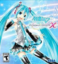 Okładka Hatsune Miku: Project DIVA X (PS4)