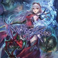 Okładka Nights of Azure (PC)