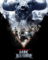 Game Box for Dungeons & Dragons: Dark Alliance (PC)
