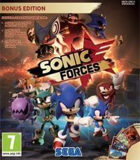 Okładka Sonic Forces (PC)