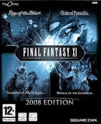 Game Box for Final Fantasy XI: Vana'diel Collection 2008 (PC)