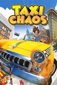 Okładka Taxi Chaos (Switch)