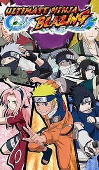 Naruto Shippuden: Ultimate Ninja Blazing (iOS cover