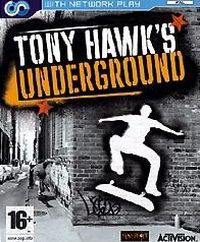 Game Box for Tony Hawk's Underground (XBOX)