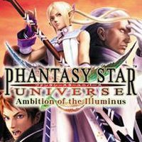 Game Box for Phantasy Star Universe: Ambition of the Illuminus (PS2)