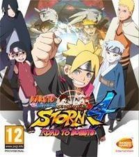 Naruto Shippuden: Ultimate Ninja Storm 4 - Road to Boruto cover