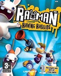 Game Box for Rayman Raving Rabbids (XBOX)