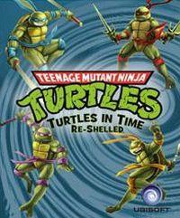 Okładka Teenage Mutant Ninja Turtles: Turtles in Time Re-Shelled (PS3)
