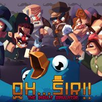 Game Box for Oh...Sir!! The Insult Simulator (PS4)