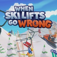 Game Box for When Ski Lifts Go Wrong (PC)