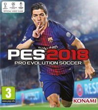 Pro Evolution Soccer 2018 cover