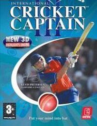 International Cricket Captain III (PS2 cover