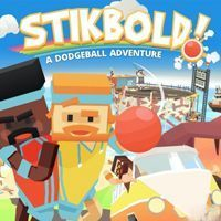Game Box for Stikbold! A Dodgeball Adventure (XONE)