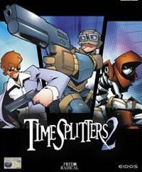 Game Box for TimeSplitters 2 (GCN)