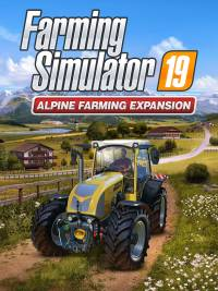 Game Box for Farming Simulator 19: Alpine Farming Expansion (PC)