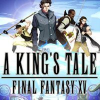 Okładka A King's Tale: Final Fantasy XV (PS4)