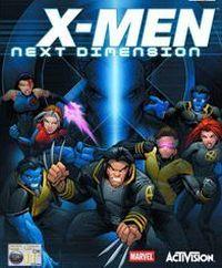 Okładka X-Men: Next Dimension (PS2)