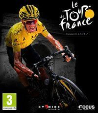 Tour de France 2017 (PS4 cover