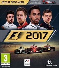 Okładka F1 2017 (PS4)