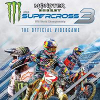 Game Box for Monster Energy Supercross: The Official Videogame 3 (PS4)