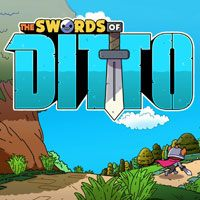 Game Box for The Swords of Ditto (PC)