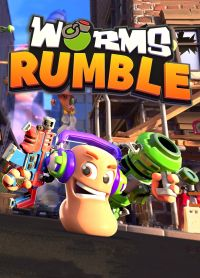 Game Box for Worms Rumble (PC)