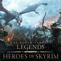 Game Box for The Elder Scrolls: Legends - Heroes of Skyrim (PC)